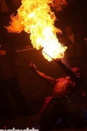 Feuer Stripshow